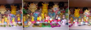 Pokemon Figure collection by 1Meh1