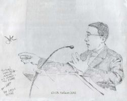 Public speaker Lopes by ibnelson