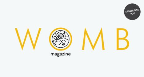 Womb magazine Logo by MartinSilvertant