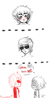 Fem!Davekat - Painfully Attractive by ManiacTenshi