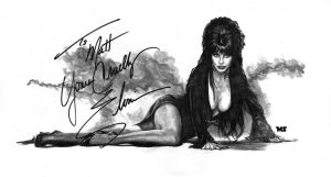 Elvira by redghostman