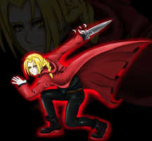 Edward Elric by Clcrawford
