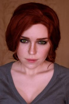 Triss make up test by TophWei