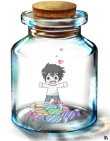 L's Jar by Ryushiori