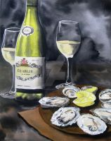 Days of Wine and Oysters by theancientofdays