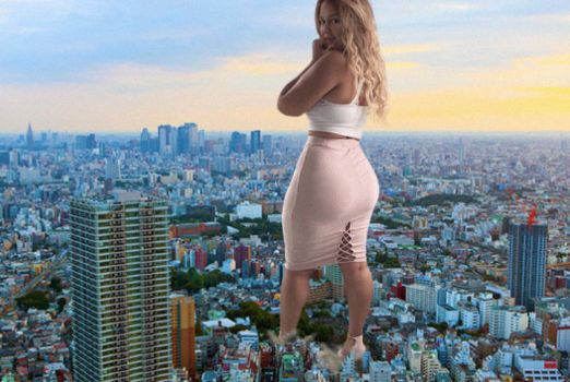Giantess Pamela 1 by xyu96