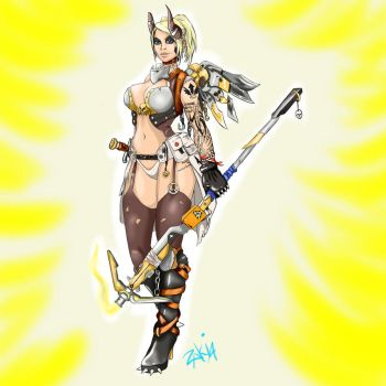 Mercy from Junkertown by OrcBoozer