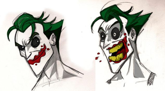 Joker animated WIP by memorypalace