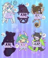 VesselDevil Adopt Batch- OPEN 2/6 by DollOccult