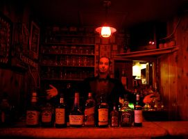 Bar in Hell by surferpete