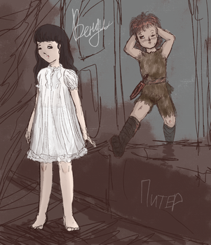 Peter and Wendy by UsagiToxic