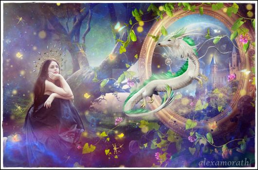 Neverending story - Portal to Dragons land by alexamorath