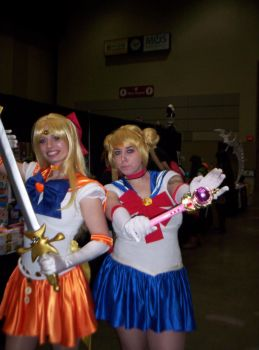 Shuto Con Sailor Scouts by JadeAbuse