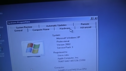 Windows XP with Service Pack 3 Is Installed! by dannydsi3d2