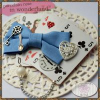 WONDERLAND: BROOCH 01 by theporcelainrose