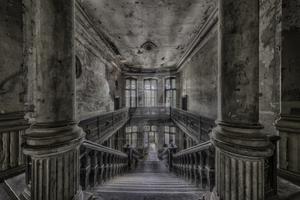 stairs to the past - Palace B. by renenordmannfotograf