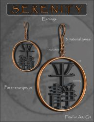 Serenity Chinese Earrings by inception8-Resource