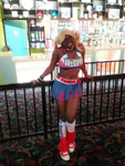 Cosplaying Juliet starling at the arcade by himegirl15