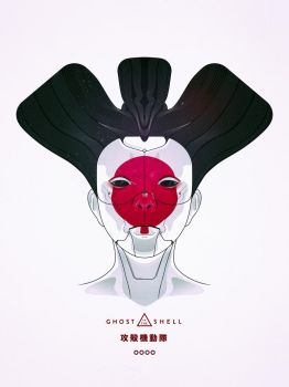 Ghost In The Shell Geisha by kngzero