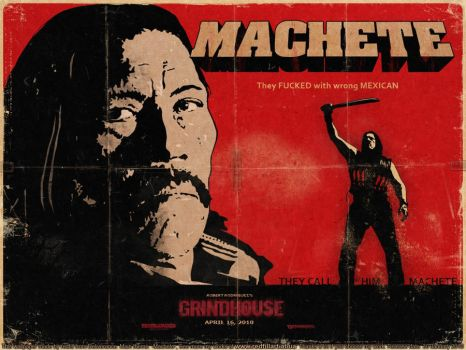 Machete Wallpaper by luizgzz