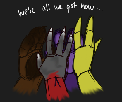 FNAF-So let's stay together by limegreenleaf