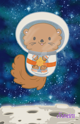 Otter Space by PhantomStarStudio