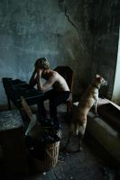 Lost in this small room by LucienWittwer