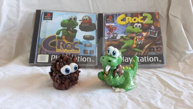 Croc Clay Figures by MangaRINer