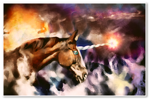 The Horse Who Played with Fire by DravenBlackthorne