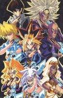 Yu-Gi-Oh!: We are the Duelist of Battle City! by d13mon-studios