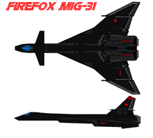 Firefox mig31 by bagera3005