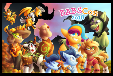 BABSCon 2018 by MarzKartoons