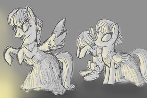 dr.whooves weeping angels by Fantastic-Pickles
