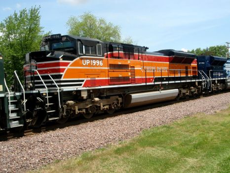 UP 1996 Heritage Engine by JamesT4