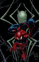 Spidey Colored by likwidlead