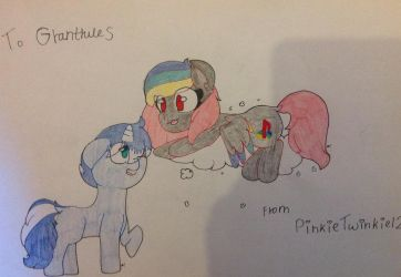 Art Trade: Playstation and Screaming Eagle!~ by PinkieTwinkie12