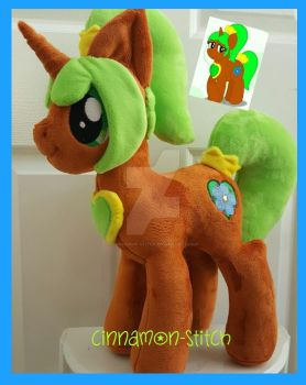 mlp plushie commission MAPLE SYRUP completed