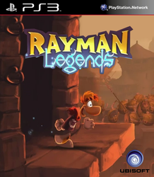 Rayman Legends - Cover Art by SquizCat