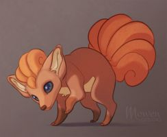 Vulpix! by MowenDesigns