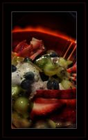 Ice cream with fruits..... by gintautegitte69