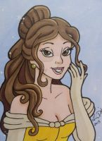Belle ACEO card by LadyNin-Chan