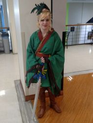 Hyrule's Finest Maiden (UB Con 2018) by JackitK