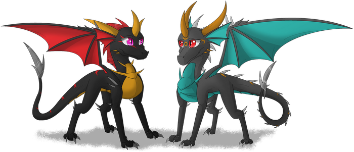 Sighric Babies! by GoldenSerenity