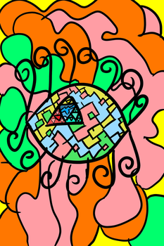 Psychedelic Eye (inspired by TheBeatles) by ValeOfFire