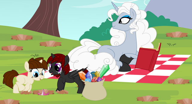 Picnic with the Family by MillenniumShadow