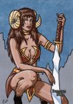 Dungeon Dolls Sketch Card 1 by ElainePerna