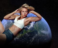 Giga Maria Sharapova by RedCoffee1