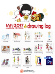 JAN 2017 - drawing log/PSD by mr-tiaa
