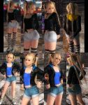 Marie Jacket Hotpants x2 by funnybunny666