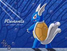 Wartortle for crayon-chewer by fab-wpg